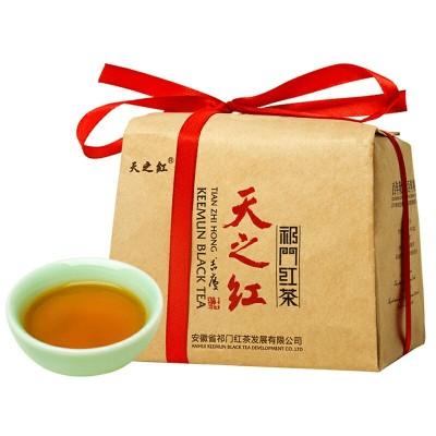天之红正宗祁门红茶回甘醇厚暖胃兰花香传统工夫茶250g