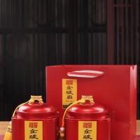 红茶礼盒装 浓香型金骏眉红茶罐装500克礼盒装蜜香型金骏眉茶叶