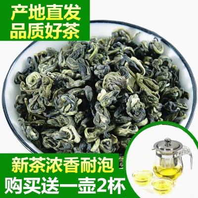 茉莉花茶2020新茶 浓香小龙珠茶叶香拍就送一壶两杯草茶袋装250克