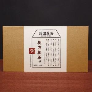 泾渭茯茶茯方茯茶黑茶 陕西咸阳泾阳茯砖茶金花茯砖茶400克