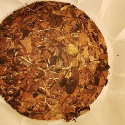 2013年荒山老白茶,寿眉
