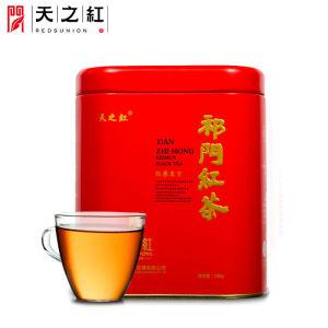 天之红红茶祁门红茶祁红毛峰春茶罐装茶叶100g
