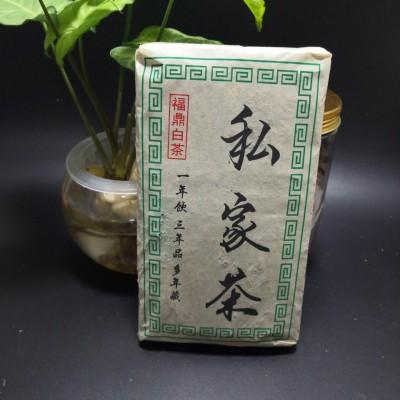 (静芝茶香)2009年福鼎老白茶砖,精选贡眉料1粒500克,已带枣药香