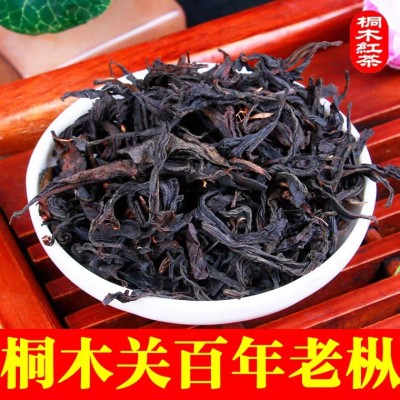 武夷山桐木关百年老枞野茶 桐木奇种 正山小种红茶500g