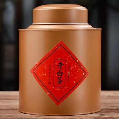 政和老白茶散装罐装 政和大白茶荒山野生高山老白茶100g