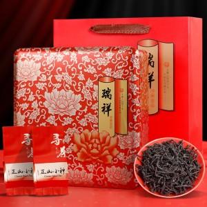 武夷山桐木关正山小种高山野生红茶 茶叶礼盒装 年货送礼佳品