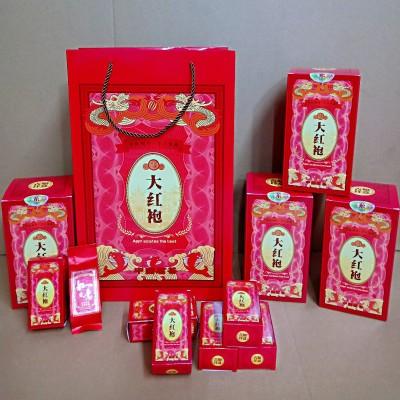 武夷山大红袍茶叶礼盒装一斤40小包装500g特级武夷山正岩乌龙茶浓香型