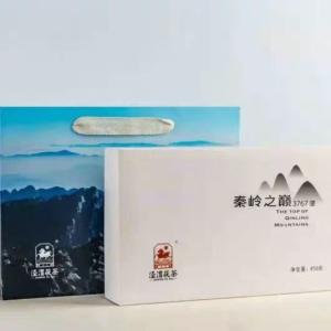 黑茶泾渭茯茶秦岭之巅陕西特产官茶泾阳茯茶砖茶特级850g