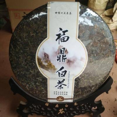 白茶  6斤饼  寿眉2012年