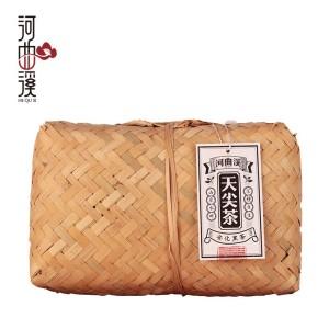 河曲溪陈年湖南安化黑茶天尖茶2kg 一级篾篓(偏远地区不包邮)