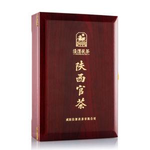 泾渭茯茶泾阳茯茶陕西特产茶叶金花黑茶茯砖西安伏茶 送礼官茶1kg