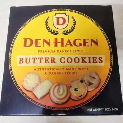 欧洲零食糕点葡萄牙原装进口DENHAGEN黄油曲奇饼干礼盒装铁罐包装