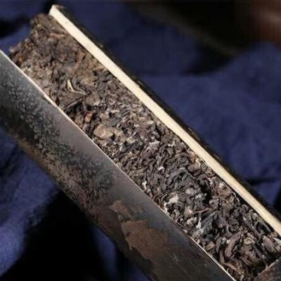 500克一柱,1997年布朗山竹筒老熟茶