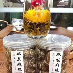 高等级的一款花茶双龙戏珠