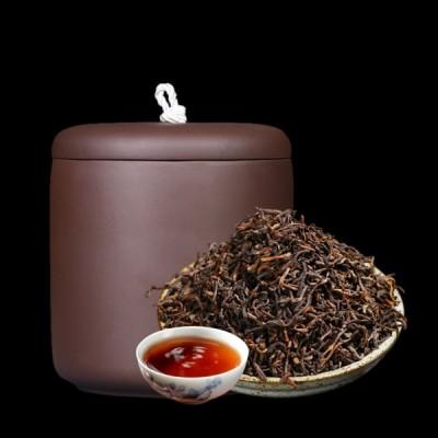 云南普洱 十年陈香宫廷1000g 勐海茶区大树茶发酵普洱茶熟茶散茶
