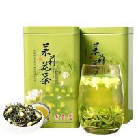 茉莉花茶祥品茶,新鲜茉莉花拼合窨制,经久耐泡,茶汤,汤包微黄,清澈明亮