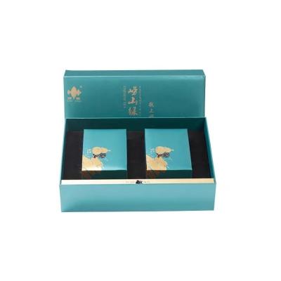 崂山绿茶2019新茶浓香型400g茶礼盒装山东青岛特产送礼特级绿茶