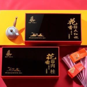武夷山花香大红袍茶叶散装浓香型花香肉桂,大红袍礼盒装送礼佳品