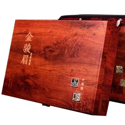 新茶金骏眉红茶罐装茶叶过年送礼年货礼盒装桐木关蜜香型小包散装