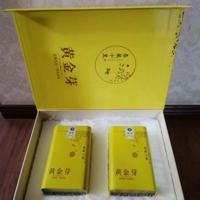 黄金芽2019新茶春茶雨前特珍稀级过年年货礼盒装250g安吉白茶