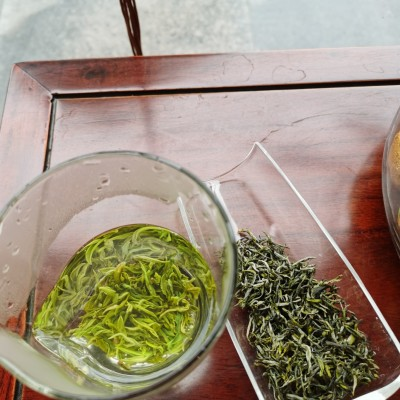 2020年新茶紫阳高山毛尖绿茶紫阳富硒茶500g