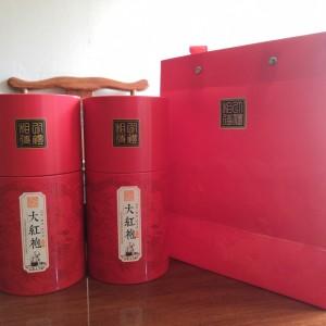 花香大红袍罐装武夷岩茶净含量250g(两罐)