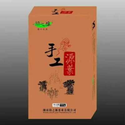 手工源叶黑茶1公斤