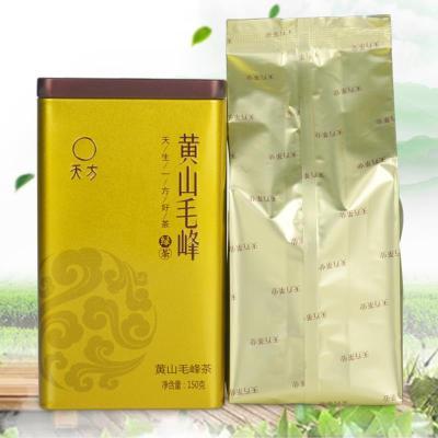 黄山毛峰春茶 黄山毛峰  安徽高山云雾绿茶150g /罐