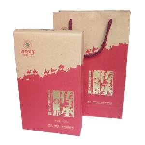 黑茶湖南安化黑茶湘益茯茶传承2015益阳茶厂茯砖茶黑茶900克