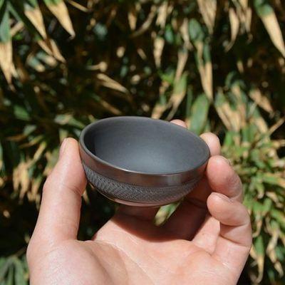 云南建水紫陶 纯手工 茶具零配 挑刀装饰 品茗杯