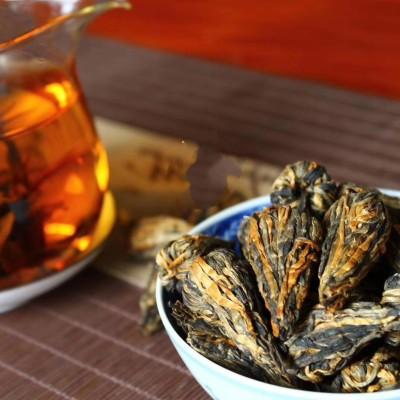 滇红宝塔 礼盒 一斤装 凤庆特级工夫红茶叶手工金芽蜜香金丝宝塔红茶