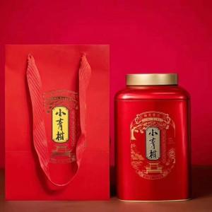 小青柑普洱茶大罐装40颗,采用新会陈皮,20年宫廷熟普,