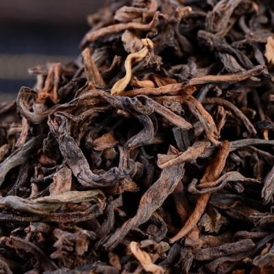 云南普洱茶熟茶茶叶 小青柑原料  年普洱散茶