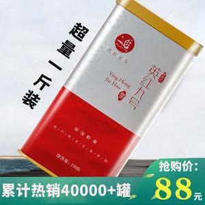 英德红茶2020英红九号红茶叶广东特产春茶2罐共500g罐装