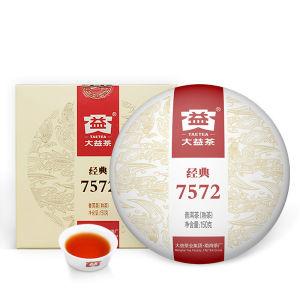 大益7572普洱茶标杆熟茶经典口粮茶大益普洱茶叶150克