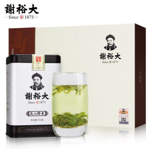 谢裕大黄山毛峰 高香古峰绿茶茶叶礼盒300克