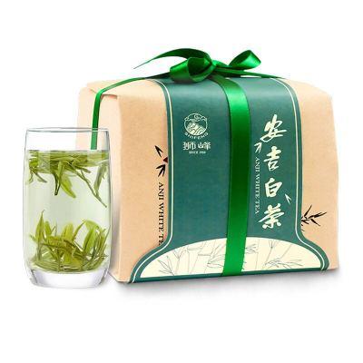 安吉白茶2020年新茶狮峰明前特级白茶茶叶高山绿茶春茶100克