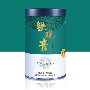中茶海堤茶叶乌龙茶散装铁观音浓香型特级特级铁观音125g