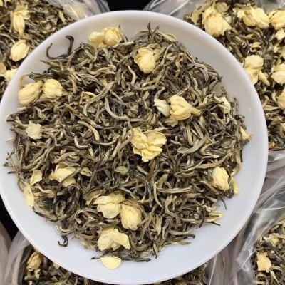爆款茉莉小银针当季茉莉花与高山绿茶窨制而成,茉莉花香入口甘醇