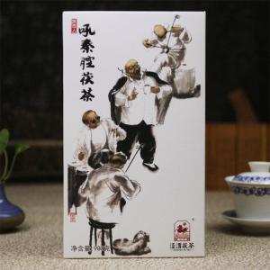 泾渭茯茶吼秦腔900g秦茯韵味丝路印象金花伏砖茶陕西黑茶泾阳茯茶