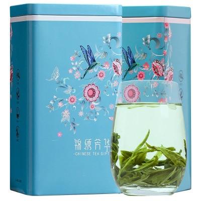 茉莉花茶 新茶 香碧螺, 绿茶散装 礼盒装 特级浓香型250g