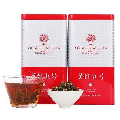 英德红茶 英红九号红茶春茶浓香正品 一级茶500克