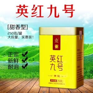 英德红茶 英红九号 2019新茶 浓香型 罐装250克