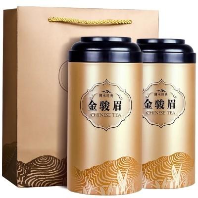 2020新茶武夷红茶金骏眉茶叶蜜香红茶500g罐装