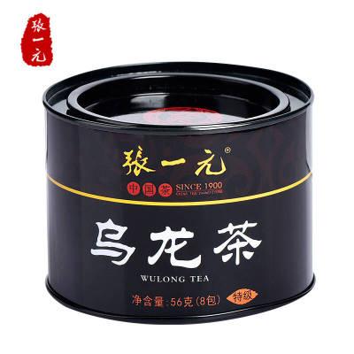 张一元特级乌龙茶56g一罐新茶上市包邮福建茗茶