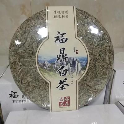 福建正宗福鼎白茶 特级白毫银针 6斤大茶饼 2018年