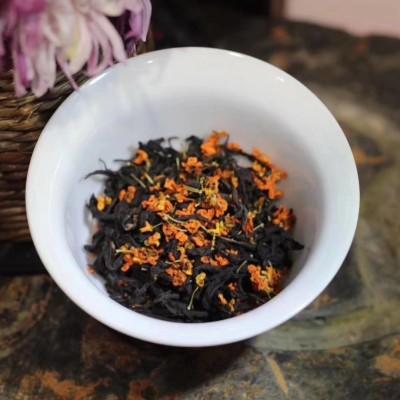 福建2019春茶武夷正山小种桂花红茶丹桂手工罐装特级新茶叶