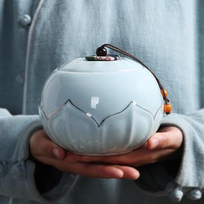 茶叶罐陶瓷密封存储罐红茶普洱铁观音龙井乌龙茶叶罐