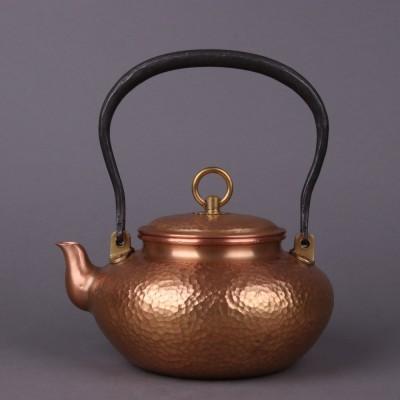 精品纯手工铜器尺寸:壶约D18×H20容量:约1200m