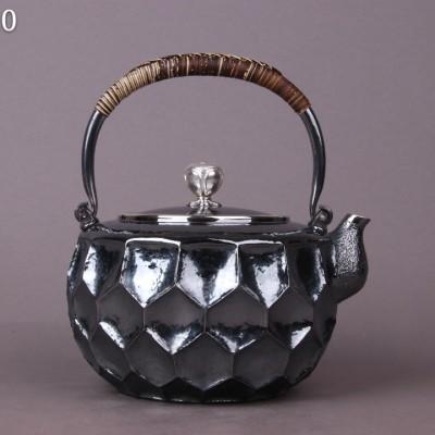日本银器 尺寸:D17×H19,容量1400,cc,重量748g